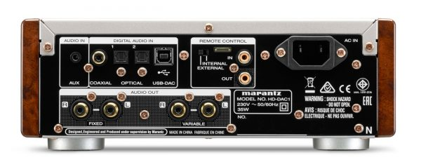 marrantz ampli dac hd dac1