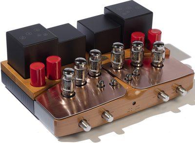 Performance anniversary (11490 €) - Amplificateur à tubes Gold Lion stéréo en double mono - Série limitée